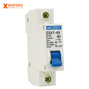 1pole 6kA safety mcb dp miniature circuit breaker