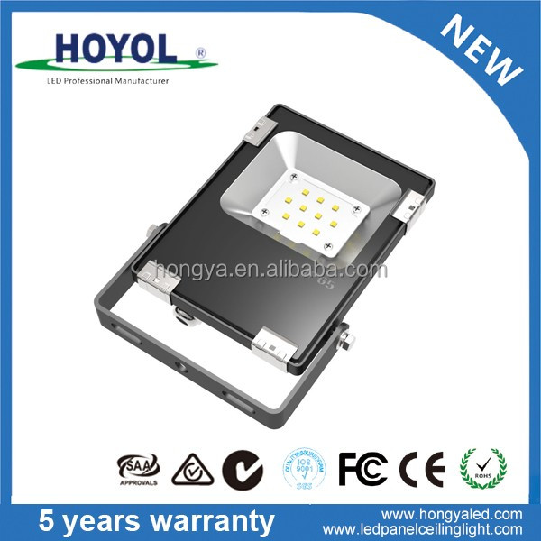 HOYOL Bright White Daylight Aluminum Housing IP65 Waterproof Garden Lamp Outdoor LED Flood Light 100W