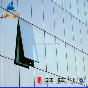 Factory AS/NZS2208/4666 & IGCC insulating glass/price insulated low-e glass/glass wall price philippines