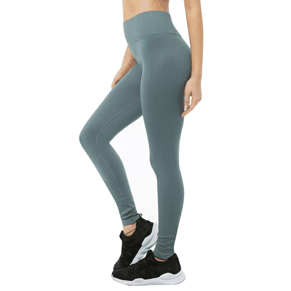 Hohe Taille Komfort Stretch Stretch GYM Workout athletische Fitness Leggings