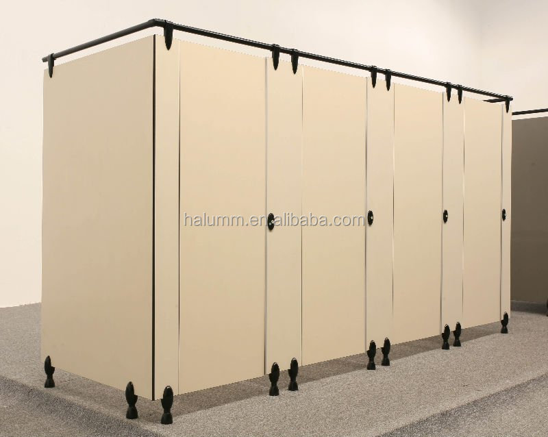 Nylon Accessories Toilet Cubicle PartitionHpl Toilet Cubile Mesmerizing Bathroom Partition
