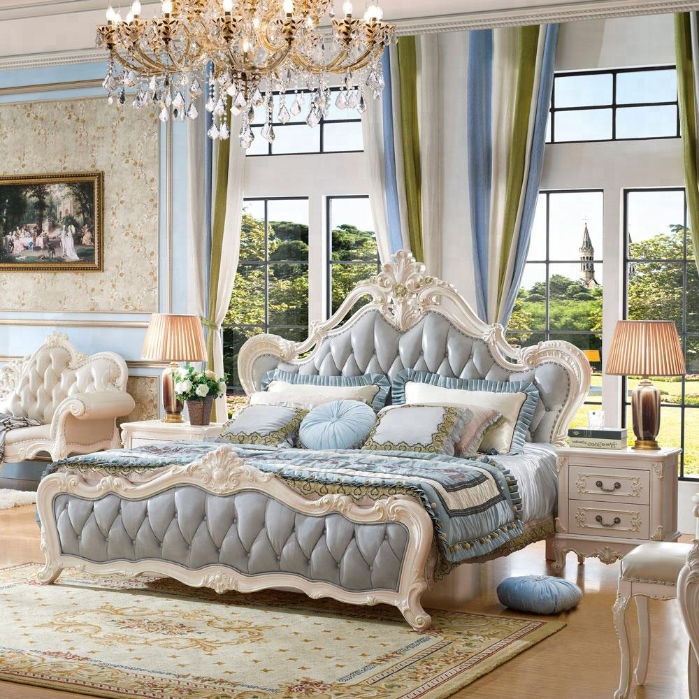 European Classic Style Queen Size White Color Wood Bedroom Set - Buy White  Bedroom Set,Queen Bedroom Set,European Bedroom Set Product on Alibaba.com