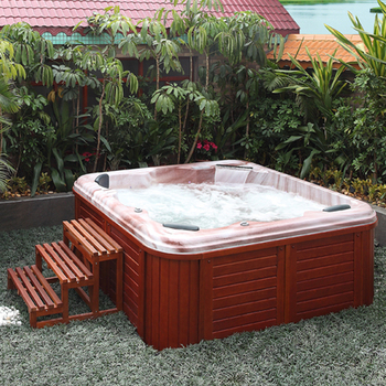 HS SPA298 Outdoor Spa Deluxe Spa Hot Spa/ Chinese Outdoor Hot Tub/ Garden