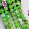 12mm loose round brilliant cut faceted fire agate beads
