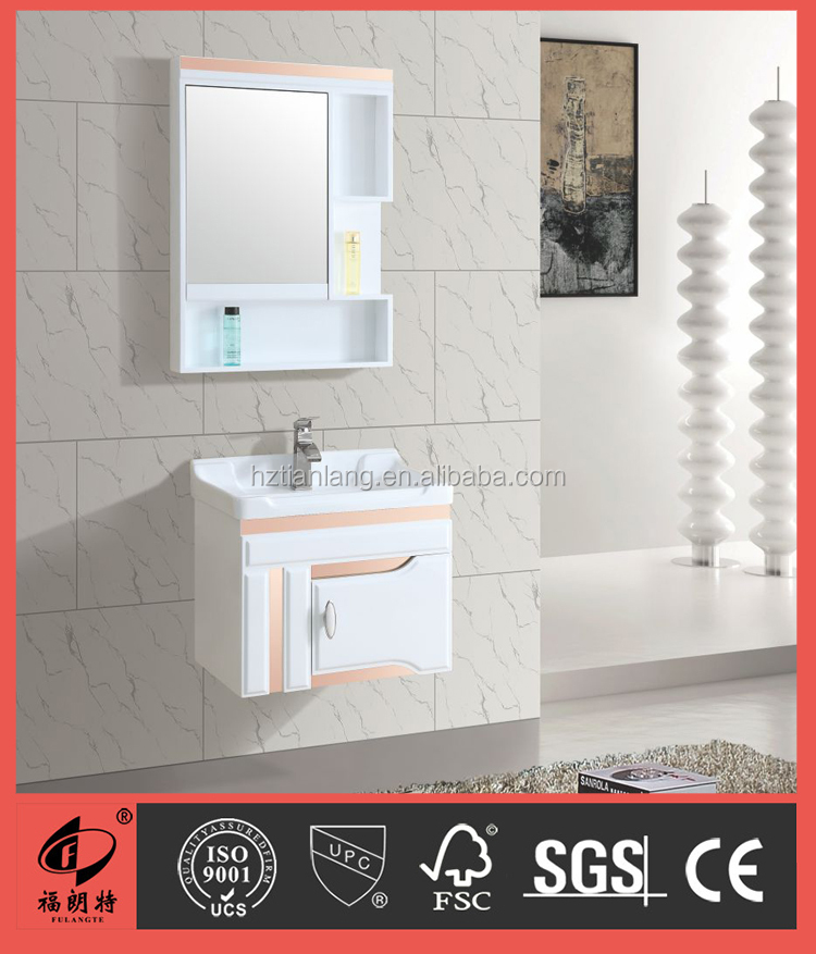 Small Size with Pink color bathroom vanity S7562-60