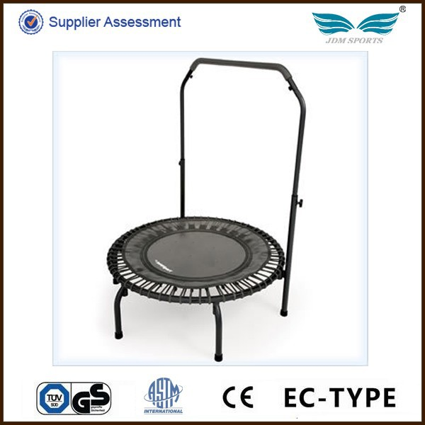 Best Selling Fitness Indoor Mini Trampolines With Handle Bar For Adults