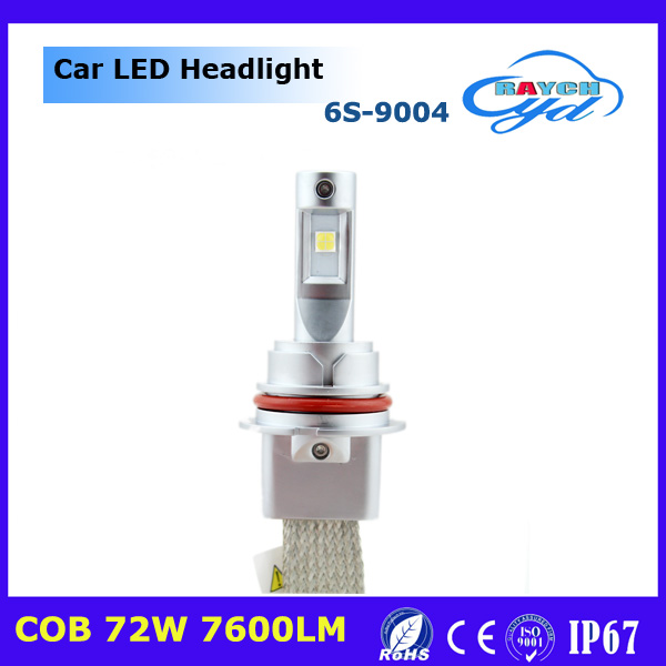 super bright 6s H4 CREEs Fanless led headlight 10000 Lumen led car headlight 9004 9007 h13 headlamp led for camping