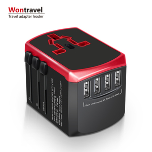 Company gifts universal travel adapter multi usb charger plugs socket adaptor USB quick charger