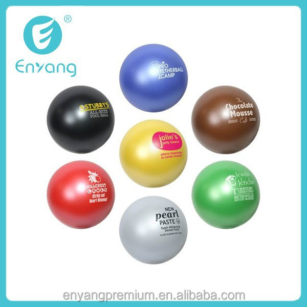 2015 Cute PU Foam Custom Design Billiard Balls