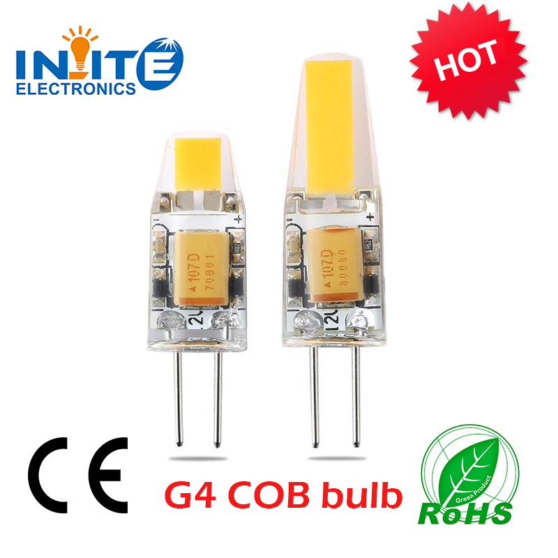 New hot cob led gy6.35 led g9/g4 base lamp g4 led 12v