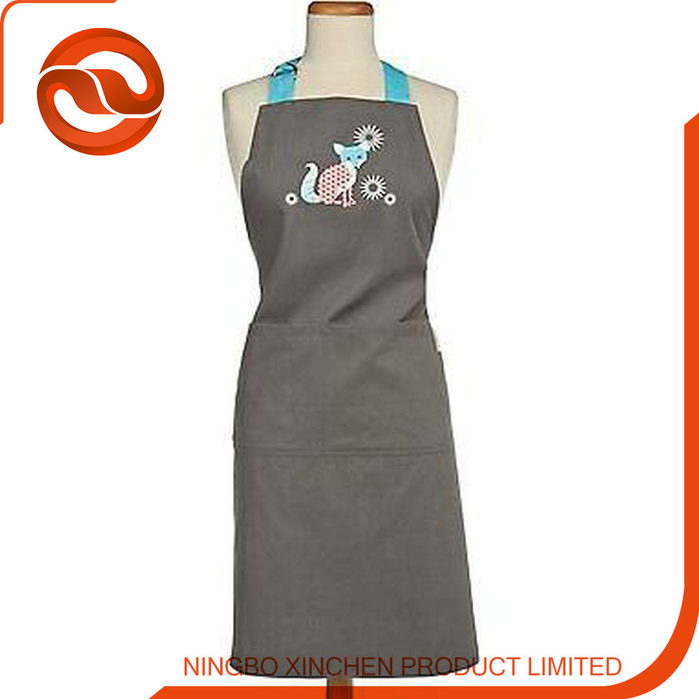Blue aprons wholesale , aprons quality , aprons with logo