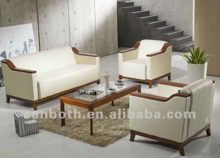 2012 Modern office leather sofa section sofa CB-A412