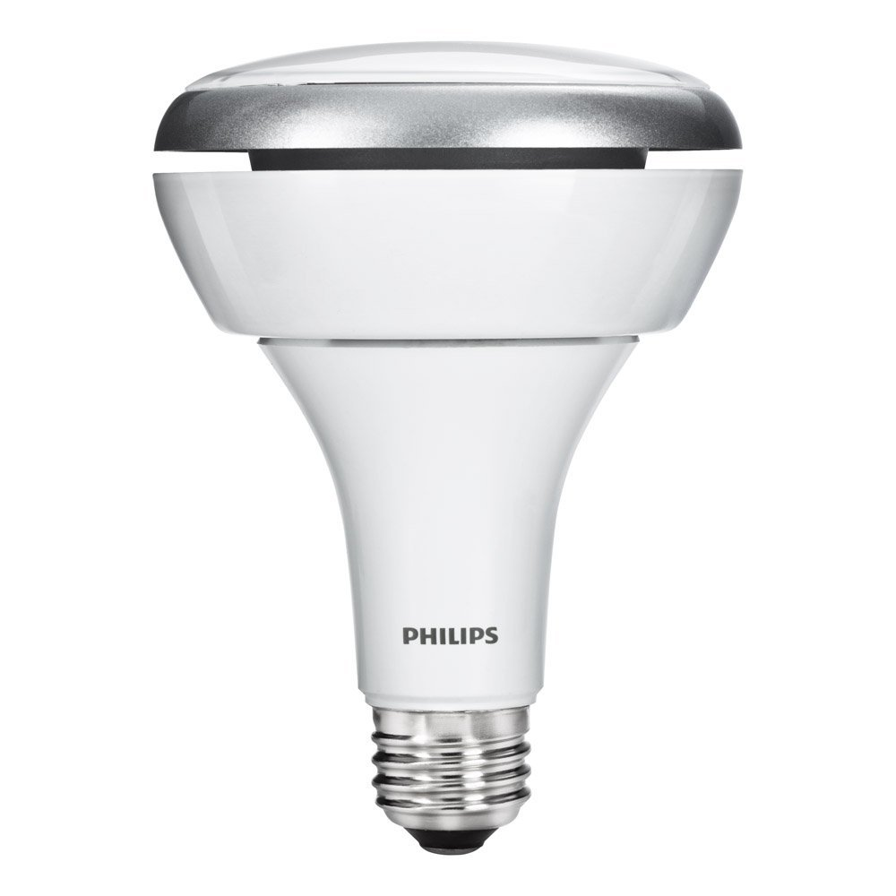 Philips 293878 10.5-watt BR30 LED Indoor Flood Light Bulb, Dimmable