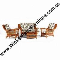 Teak Patio Rattan Conservatory Furniture
