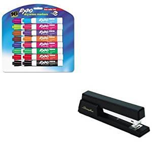 KITSAN81045SWI76701 - Value Kit - Swingline Premium Commercial Full Strip Stapler (SWI76701) and Expo Low Odor Dry Erase Markers (SAN81045)