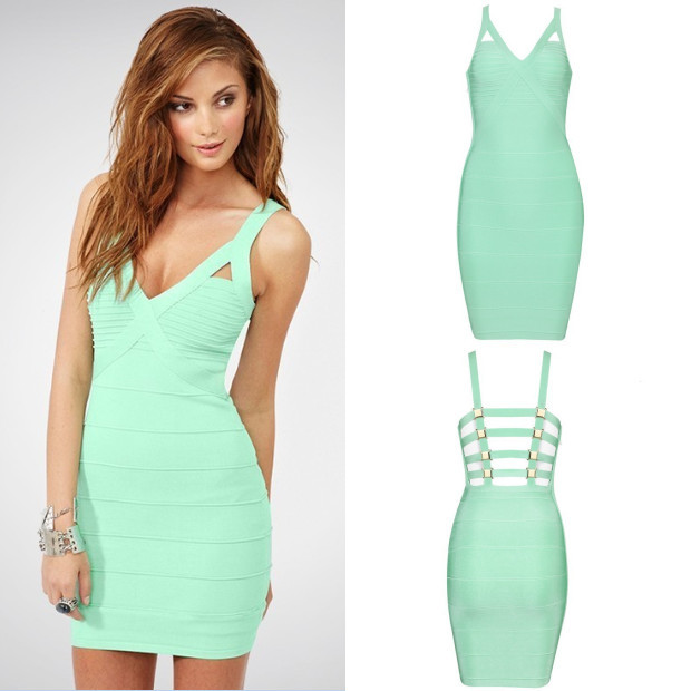 2bb608700081 Get Quotations · 2014 New Arrival Women Summer Sky Blue Sexy V-Neck Sequins Short  Party Dresses HL