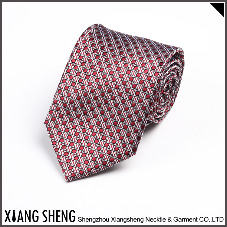Quality-assured handmade silk tie