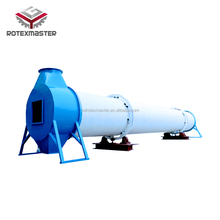 High efficiency rotary dryer for brewery sorghum waste drying