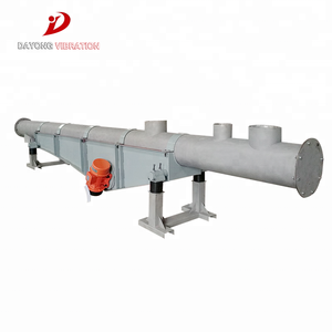 Vibratory Tube Conveyor for Powder and Particles Material Conveying