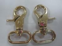 Metal spring snap hook zinc alloy snap hook fo handbag bag snap hook for metal fitting