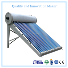 2017 Hot Sale Low Pressure Vacuum Tube Solar Water Heater System