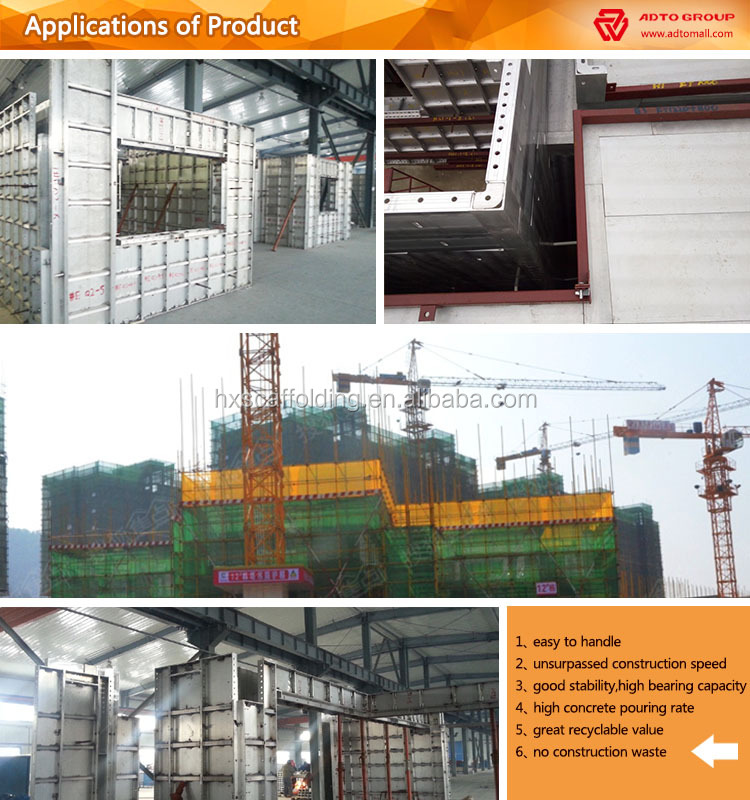 Aluminum Precast Concrete Form Systems Premium Supplier / Wallties ...