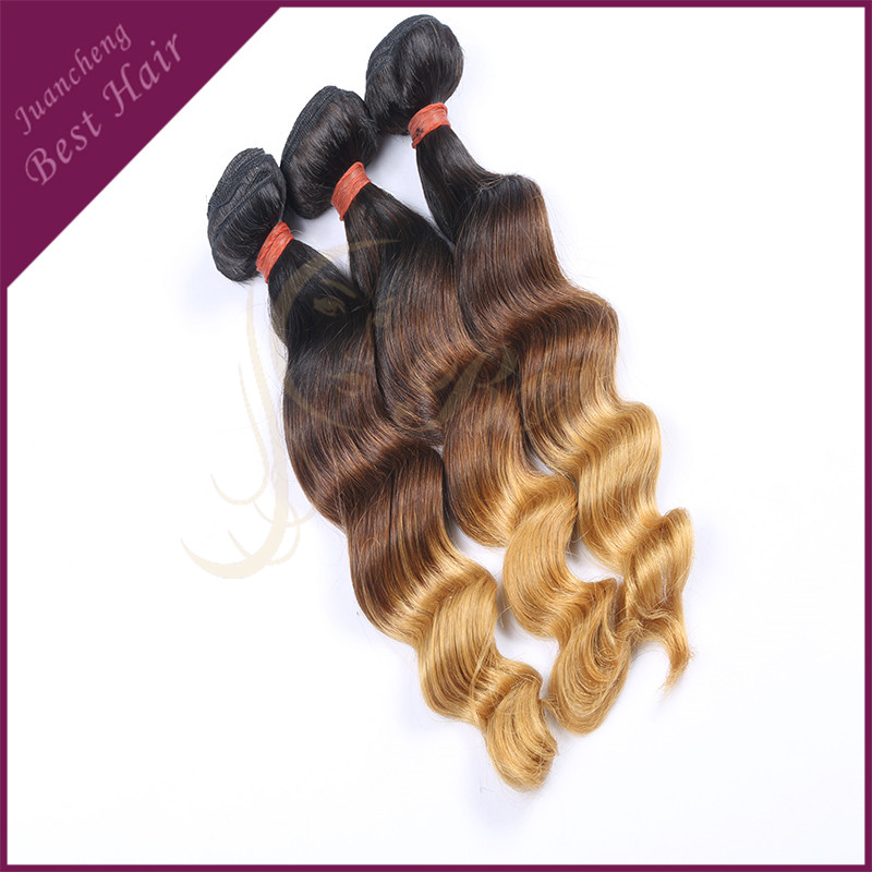 Wholesale Uk Virgin Human Hair Three Tone Ombre Indian Hair Weave Wet And Wavy