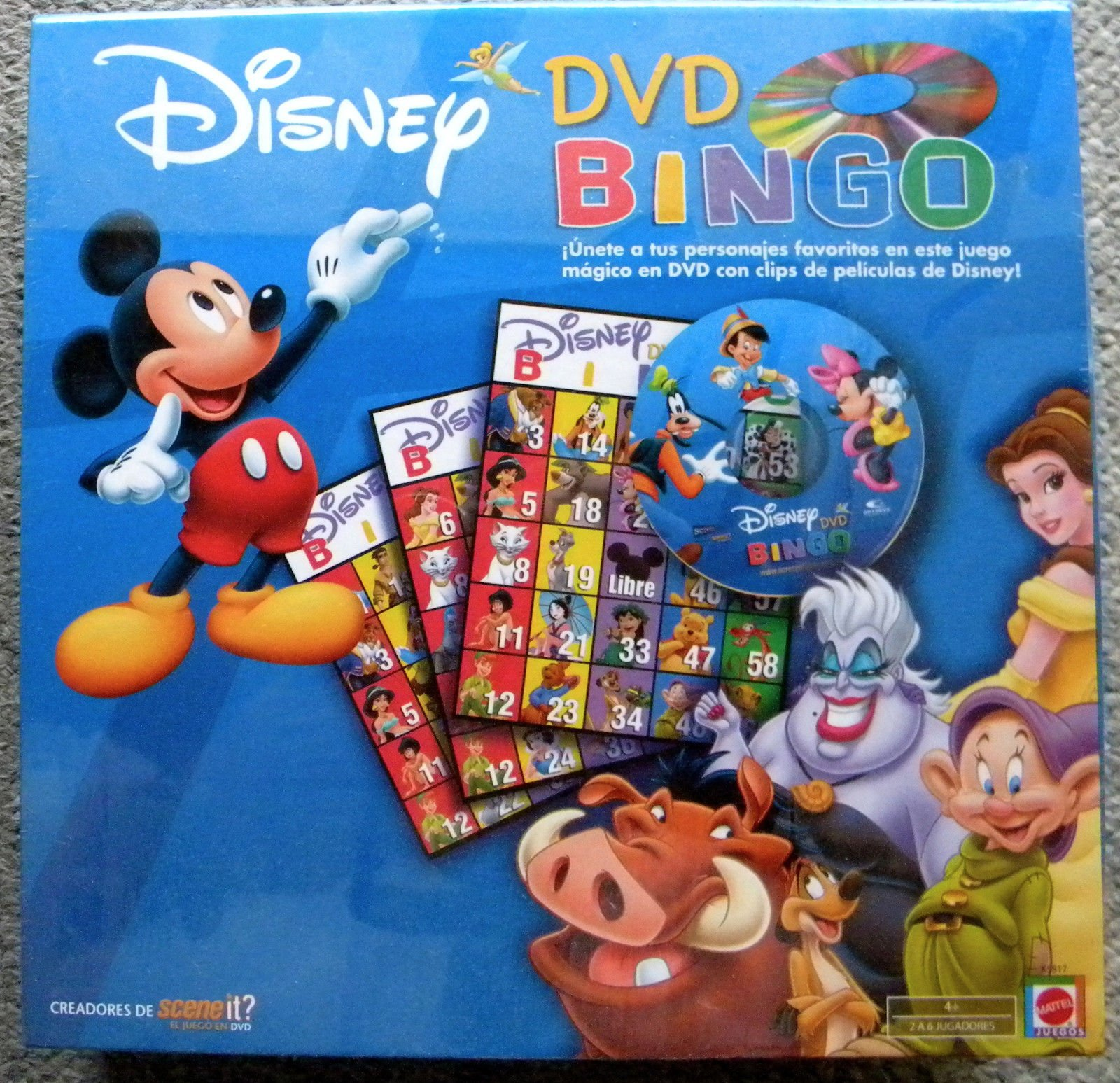 graphic about Disney Bingo Printable titled Economical Dvd Bingo, discover Dvd Bingo offers upon line at