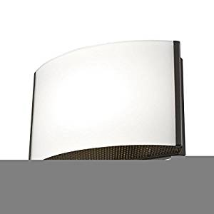 Alico Pandora LED 1 Light LED Vanity in Oiled Bronze, Opal Glass - BVL911-10-45 ,,__#shop_freely (#ATOE70371684500711