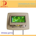 7 inch Detachable panel Headrest dvd with MP4 function