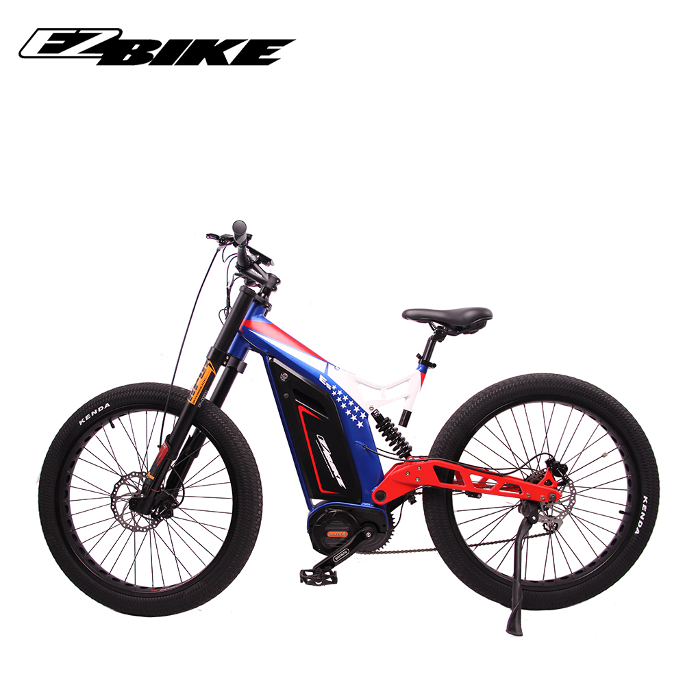 fat tire mountain electric bike high speed powerful 48v 1000w mid drive e bicycle ebike for adults, Customized