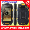 Jeep Z6 IP67 Waterproof Android 4.2 Dual SIM 4.0 Inch IPS Screen 3G GPS Rugged mobile phone