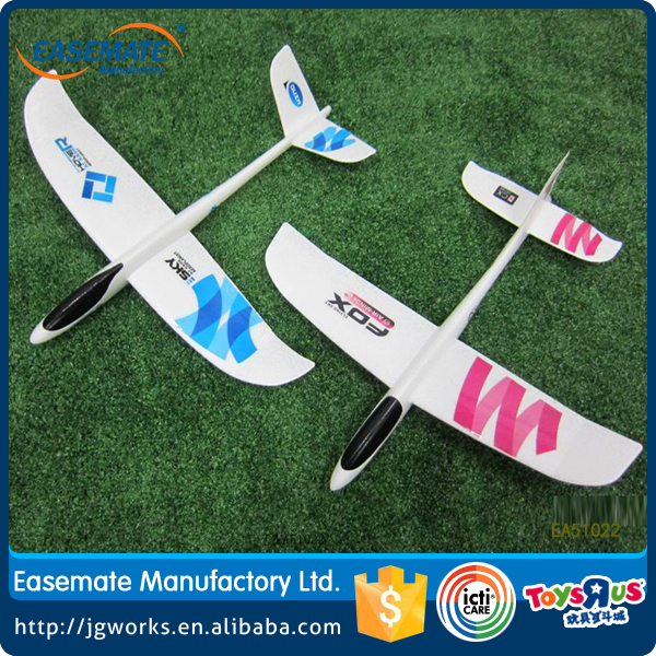 New toys hand throwing aerodone foam gliders plane toy diy assemble big rc plane