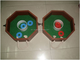 MDF Washer Toss Game Set