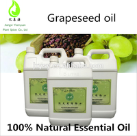 Natural Organic Grapeseed Essential Oils Virgin Grape Seed Oil Edible Oil For Life Prolonging