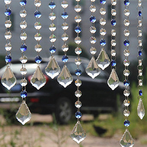 Glass Beads Chain Hanging Crystal Beaded Curtain