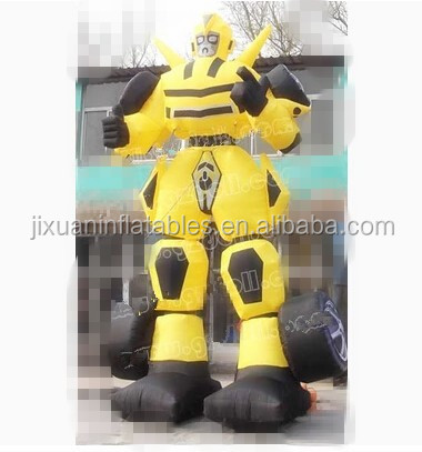 inflatable transformers bumblebee/transformers bumblebee costume