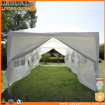 Metal Gazebo Tent Privacy Curtains