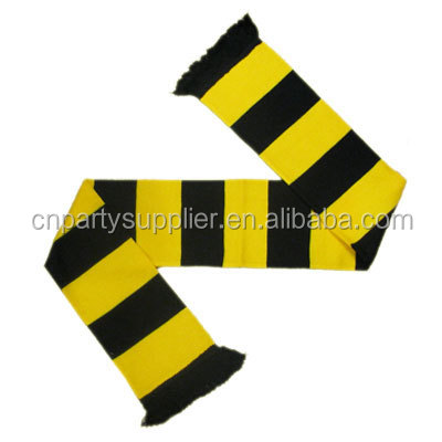 Black and Yellow Retro Bar <strong>Scarf</strong>
