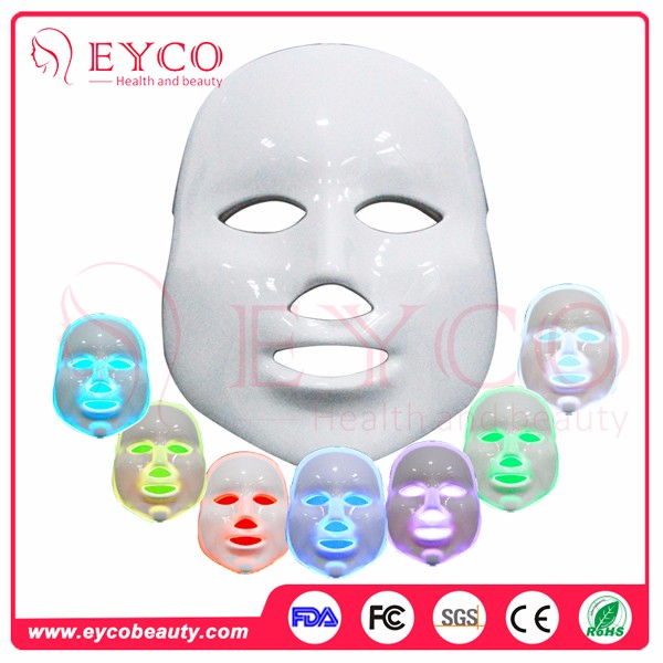 Newest design skin colored face mask led mask 7 color beauty facial mask for sale