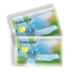 CMYK color plastic reward point card for shop member