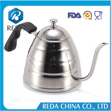 Alibaba best seller stainless steel coffee drip pot and tea kettle
