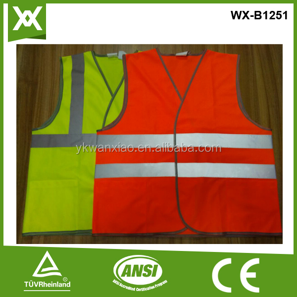 safety products warning reflective safety vest safety clothing cheap promotion