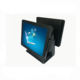 15'' POS Monitor Dual Display Flat Capacitive Touch Screen for Restaurant