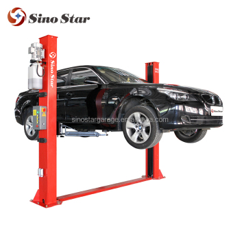 2 Post Car Lift Electric Motor Screw Lift Lift Tables 5m Lift