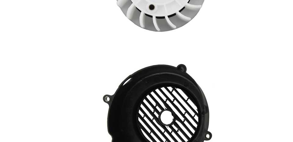 GOOFIT Motorcycle Air Director Assy for GY6 150cc ATV Go Kart Moped &  Scooter Engine housing F038-004