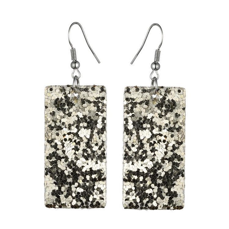 Fashion Beautiful Bohemian Rectangular Drop Women Earrings