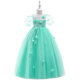 Cheap China Wholesale Clothing Kids Frock Designs Pictures Children Clothes Girls Wedding Party Dress L-581