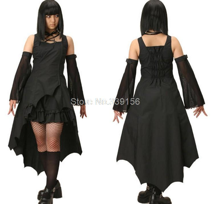 Plus Size Medieval Dresses: Aliexpress.com : Buy Hot Sale Plus Size Black Gothic Punk