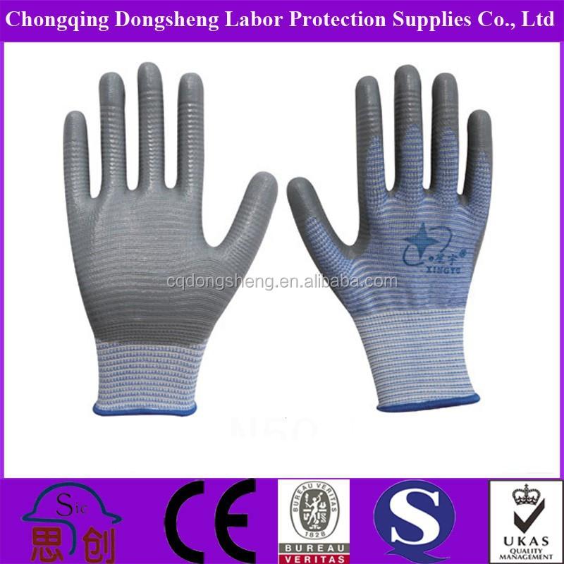 Fancy Corrosion Resistance Safety Nitrile Glove